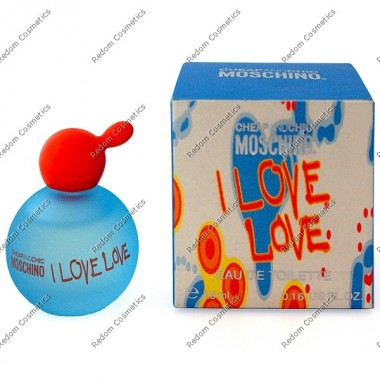 MOSCHINO I LOVE LOVE WODA TOALETOWA 4,9 ML