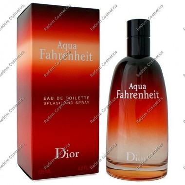 Christian dior fahrenheit aqua men woda toaletowa 125 ml spray