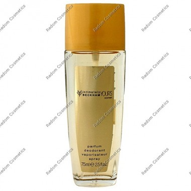 David beckham intimately yours women dezodorant 75 ml atomizer