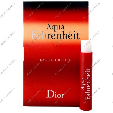 Christian dior fahrenheit aqua men woda toaletowa 1 ml spray (kpl.10 szt)