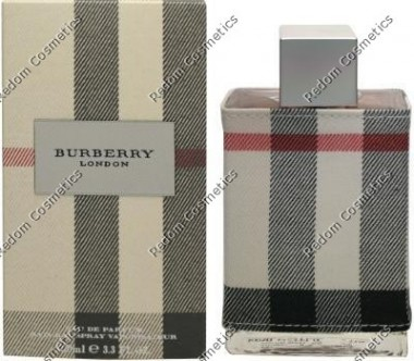 Burberry london fabric for women woda perfumowana 30 ml spray