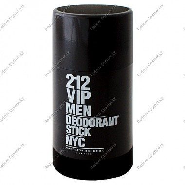 Carolina herrera 212 vip men dezodorant sztyft 75 ml