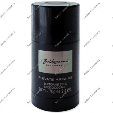 Baldessarini private affairs dezodorant sztyft 70 g
