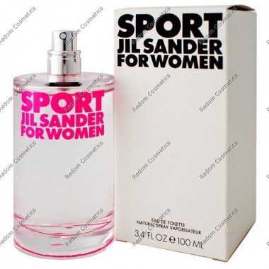 Jil sander sport for women woda toaletowa 100 ml spray bez opakowania