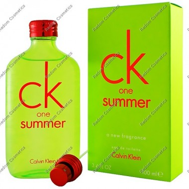 CALVIN KLEIN CK ONE SUMMER 2012 WODA TOALETOWA 100 ML SPRAY