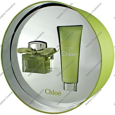 Chloe l eau chloe woda toaletowa 50 ml spray + balsam do ciaŁa 75 ml