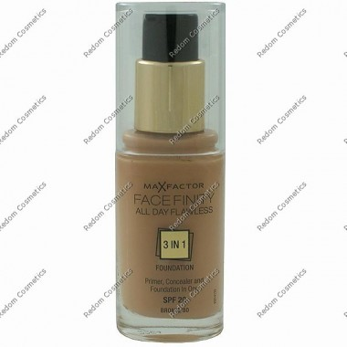 Max factor facefinity all day flawless 3 w 1 podkŁad nr 80 bronze 30 ml