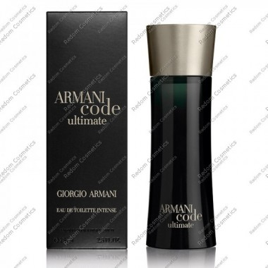 Giorgio armani code ultimate pour homme woda toaletowa 75 ml spray