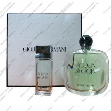 Giorgio armani acqua di gioia women woda perfumowana 100 ml spray + woda perfumowana 20 ml spray