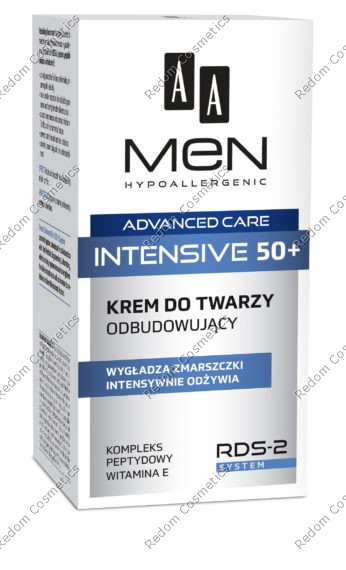 Aa men advanced care intensive 50+ krem do twarzy odbudowujĄcy 50ml