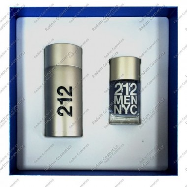 Carolina herrera 212 men woda toaletowa 100 ml spray + woda toaletowa 30 ml spray