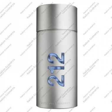 Carolina herrera 212 men woda toaletowa 100 ml spray bez opakowania
