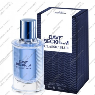 David beckham homme classic blue woda toaletowa 40 ml spray