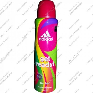 Adidas get ready women dezodorant 150 ml spray
