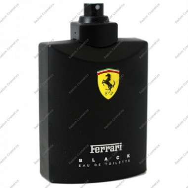Ferrari black men woda toaletowa 125 ml spray bez opakowania