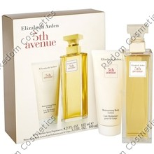 ELIZABETH ARDEN 5TH AVENUE WODA PERFUMOWANA 125 ML SPRAY + BALSAM DO CIAŁA 100 ML