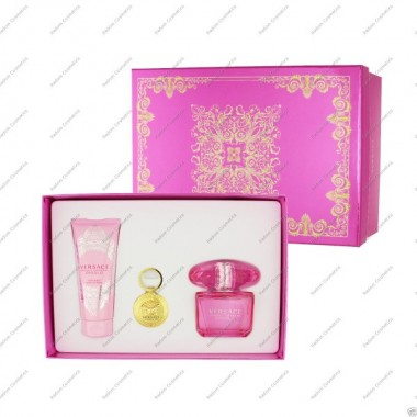 Versace bright crystal absolu woda perfumowana 90 ml spray + balsam do ciaŁa 100 ml + brelok
