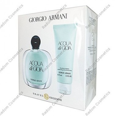 Giorgio armani acqua di gioia women woda perfumowana 100 ml spray + balsam do ciaŁa 75ml