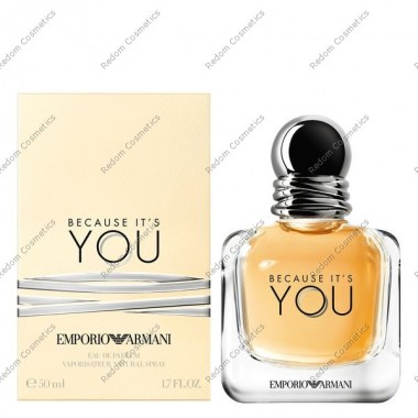 ARMANI BECAUSE IT'S YOU WODA PERFUMOWANA 50ML SPRAY