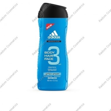 ADIDAS AFTER SPORT  ŻEL POD PRYSZNIC 400ML