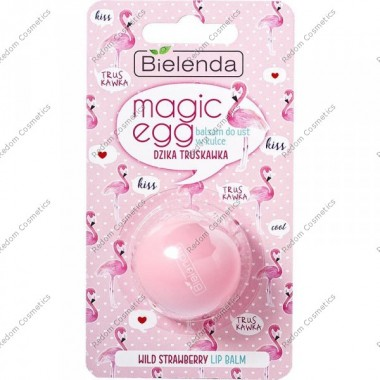 Bielenda magic egg balsam do dzika truskawka 8,5g
