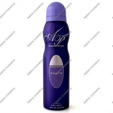 ALEXANDER VIOLETTE DEZODORANT 150 ML SPRAY