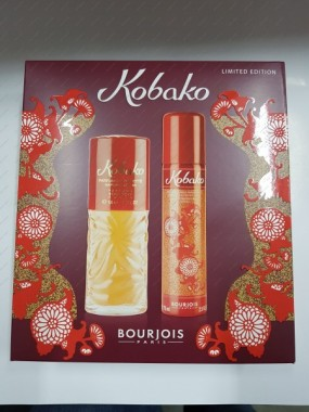 BOURJOIS KOBAKO WODA TOALETOWA 50 ML SPRAY + DEZODORANT 75 ML SPRAY