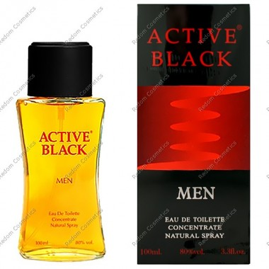 Active black woda toaletowa 100 ml spray