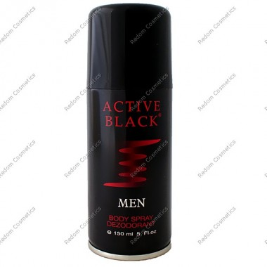ACTIVE BLACK DEZODORANT 150 ML SPRAY