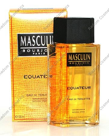 Bourjois masculin equateur woda toaletowa 100 ml spray