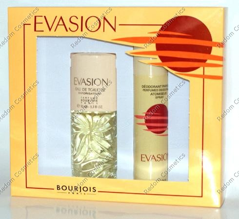 BOURJOIS EVASION WODA TOALETOWA 50 ML SPRAY + DEZODORANT 75 ML SPRAY