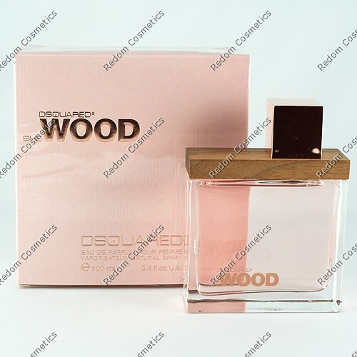 DSQUARED SHE WOOD WODA PERFUMOWANA 50 ML SPRAY